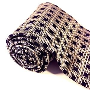 "VALERIO GARATI 100% Silk Men's Checkers Tie 4""x58"""